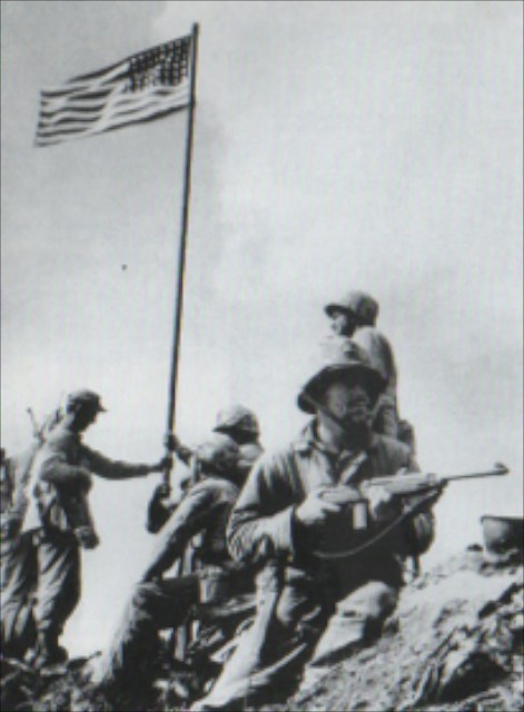 "flags of our fathers essay ""flags of our fathers"" is a picture that, despite providing an in-depth look at the  history of the iconic photograph of six soldiers raising the."