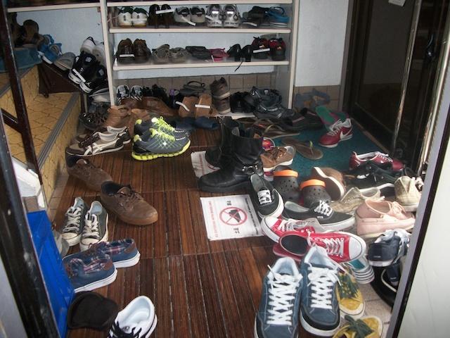 Japanese Shoe Etiquette