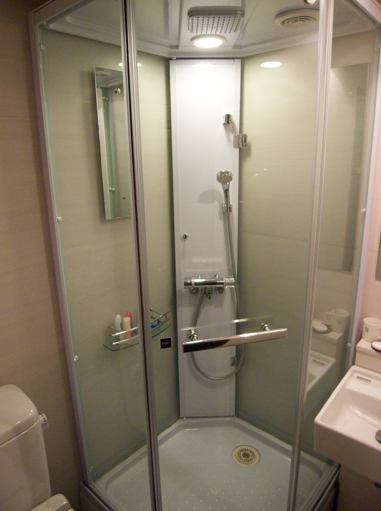 Small Clean Private Bathroom At Agora Place In Asakua Tokyo Japan